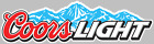 Coors Light Beer Logo Decal Sticker Choose Size 3M LAMINATED BUY 3 GET 1 FREE