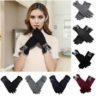 Winter Warm Thick Soft Cashmere Touch Screen Fleece Gloves For Women Lady US
