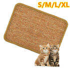 Natural Sisal Kitty Cat Scratch Board Mat Scratching Post Toy Sofa Pad Protector