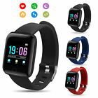 smart band watch bracelet wristband fitness tracker blood pressure heart rate us