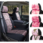 Seat Covers Pink Camo For GMC Sierra 1500 Coverking Custom Fit