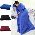 Hoodie Blanket Oversized Ultra Plush Comfy Sherpa Revisible Sweatshirt Blanket image