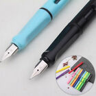 0.38mm Calligraphy Practice Smooth Writing Plastic Fine Nib Fountain Pen Gift US