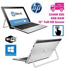 "Hp Elite 1012 G1 256gb Ssd 8gb Windows 10 Pro Laptop Tablet 12"" Touchscreen Pc"