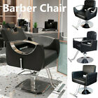 Reclining Hydraulic Salon Barber Chair Adjustable Swivel Hairdressing Furniture