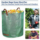 Reusable Garden Waste Bag Sack Set Leaf Garden Waste Bag Waste Bag 120L/272L US