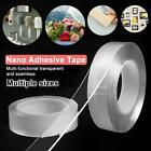 Reusable Double-Sided Adhesive Nano Tape Traceless Sticker Invisible Gel Tape