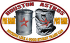 Houston Astros Trashcan Cheating Parody Sticker  3M LAMINATED BUY 3 GET 1 FREE on Ebay
