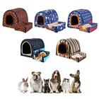Pet House Dog House Bed Removable Washable Kennel Universal Sleeping Cushion