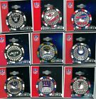NFL Poker Chip Pin Choice 9 Pins Choose Pin PDI New on Card Raiders Bills Giants $5.0 USD on eBay