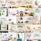Quote Wall Stickers Vinyl Art Home Room Diy Decal Home Decor Removable Mural  Zp