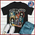 Fleetwood Mac 1978 Tour T-shirt S-XXL Cotton Concert Band 1970s Black Tee image