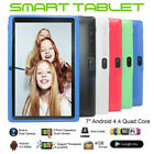 """7"""" inch Android Tablet 4GB Quad Core 4.4 Dual Camera Wifi bluetooth Pad FAST LOT"""