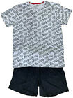 MENS SHORT PYJAMAS HARRY POTTER EX UK STORE GREY/BLACK NIGHT WEAR XS-XXXL PJ SET