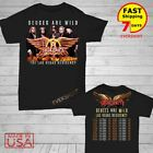 Aerosmith t Shirt Deuces are Wild Concert Tour 2019-2020 T-Shirt Size Men Black image