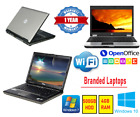 Cheap Fast Windows 10 Or 7 Laptop Dell/hp/lenovo Core 2 Duo 500gb 4gb Ram Wifi