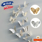 12pcs 3d Butterfly Wall Stickers Art Decals Home All Room Decorative Decor Kids