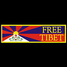 Free Tibet BUMPER STICKER or MAGNET Freedom decal magnetic democracy home rule