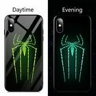 Luminous Phone Case For iPhone 11Pro Max Xr X XS 8 7 6s Glass Cover Venom Marvel