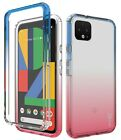 For Google Pixel 4 XL Case Clear Full Body TPU Rubber Phone Cover