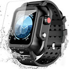 Underwater Apple Watch Case 38mm/42mm Series 3 with 3 Soft Silicon Band 4/5 44mm image
