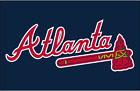 Atlanta Braves  set of 2 decals, corn hole , Free shipping, Made in USA #2 on Ebay