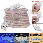 Uk Plug Led Strip Lights 3014 Waterproof Commercial Light Home Decor 220v 240v