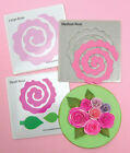 QUILLING DIES & CUTTING PAD-Quilled 3D Spiral Paper Flowers Die-Rose/Leaves