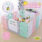 Kidbot 14/16 Panel Kid Baby Playpen Child Toddler Activity Centre w/ Games Music