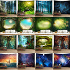 Kyпить Fantasy Forest 3D Tree Wall Hanging Tapestry Blanket Psychedelic Bedspread Decor на еВаy.соm