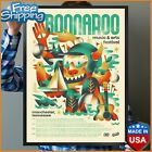 Bonnaroo 2019 Official Poster Without Frame Birthday Gift Wall Decor FREESHIP