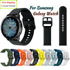 Samsung Galaxy Watch Active 2 40/42/44mm Silicone Sport Band Bracelet Strap image