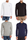 Ralph Lauren Long Sleeve Men's Polo T-Shirts Custom Fit
