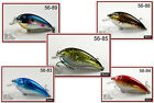 "Pack of 5 Akuna Fat Boy 3.2"" Shallow Diving Crankbait Bass Trout Fishing Lures"