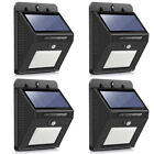 Solar Powered 118 LED PIR Motion Sensor Wall Security Light Lamp Garden Outdoor