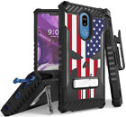 Rugged Case + Belt Clip Combo for LG Stylo 5 - Patriotic Series