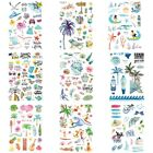 Hawaiian-Style Body Tattoo Waterproof Sticker Cartoon Party Temporary Children $0.99 USD on eBay