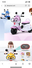 141 New Children Electric Motorcycle Three Wheels Electric Car for Kids Ride on