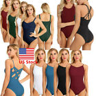 Kyпить US _Womens Girl Ballet Dance Leotard Unitard Gymnastics Skate Bodysuit Dancewear на еВаy.соm