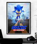 Sonic The Hedgehog Poster - Film Movie Character Art - A2 A3 A4 #Charity