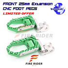CNC 25mm Lowering Front Large Foot Pegs For XB9SX City Cross XB9S Lightning