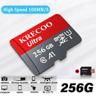 Memory Card 256GB 95MB/S Class10 Flash TF Card with Adapter Universal 2020 New