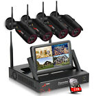 Wireless Security Camera CCTV System Outdoor 8CH NVR Home 1080P WiFi 1TB HDD