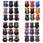 Multi-function Face Tube Sun Shield Bandana Outdoor Sheer Square Scarf Headwear