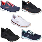 Skechers Flex Appeal 3.0 - First Insight Trainers Womens Mesh Sneakers Shoes