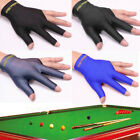Spandex Snooker Billiard Cue Gloves Pool Left Hand Open Three Finger Glove FT £2.29 GBP on eBay