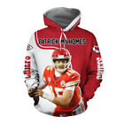 Patrick Mahomes Kansas City Chiefs MVP Super Bowl 3D Hoodie Full Printing $40.99 USD on eBay