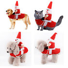 Warm Coat Xmas Riding Horse Clothe Puppy Supplies Christmas Costume Pet Clothes