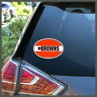 NFL Cleveland Browns #Browns Bumper Sticker Decal or Car Magnet $11.95 USD on eBay