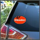 NFL Cincinnati Bengals #WhoDey Who Dey Bumper Sticker Decal or Car Magnet $11.95 USD on eBay